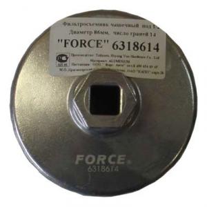 Фильтросъёмник чашечный  86граней D=14мм.