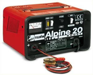 Зарядное устройство ALPINE 20 BOOST,~ 230V/12/24V/12-8A (с функцией Быстрая зарядка)