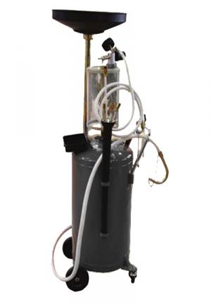 Пневмо система, для принудительного сбора отработанного масла из ДВС и для его последующего хранения до утилизации