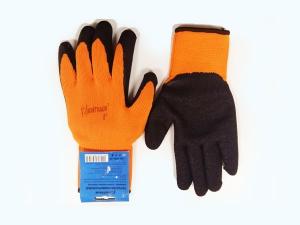 UN-L001-10 Перчатки универсальные (оранжево/черные), с полиуретановым покрытием. р-10