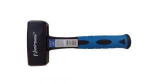 Кувалда Механика 2000г с двухсторонним 4-гранным кованным бойком на фибергласовой ручке
