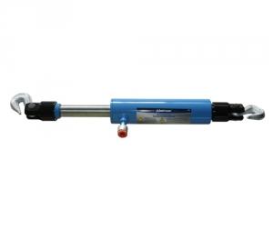 Гидроцилиндр 10т. СТЯЖКА  на 2 крюка (715мм-130мм)