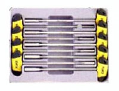 Набор отверток 9 предметов с внутренним шестигранником в ложементе