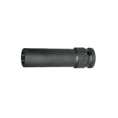 """1/2"""" Головка 12-ти гранная д/пневмоинструмента L=85mm 30 мм"""