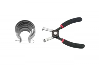 Набор для сжима маслосъёмных колец  для мототехники  35-73мм  8 пр