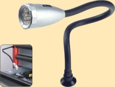 Диодная лампа на клипсе с магнитом