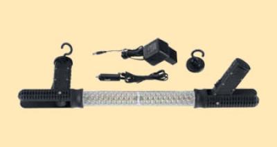 Диодная аккумуляторная лампа 2 крюка и 2 магнита 3-4 ч горения