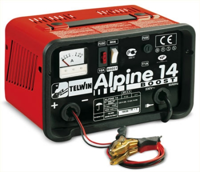 Зарядное устройство ALPINE 14 BOOST,~ 230V 12V/6А (с функцией Быстрая зарядка)