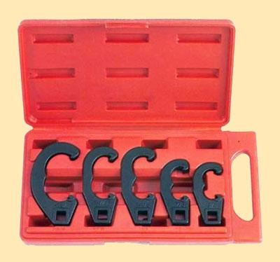 """Набор ключей для регулировки рулевых тяг, под вороток 1/2"""" 5 предметов"""