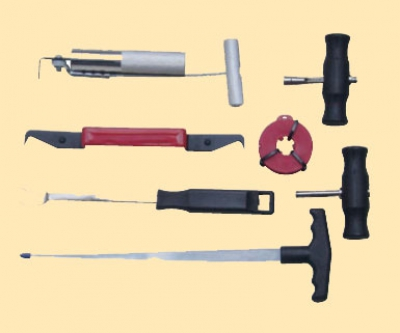 Набор для вырезания, снятия и установки автостекол, 7пр