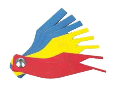 Набор щупов 2-12мм для регулировки ручного тормоза 8 пр.