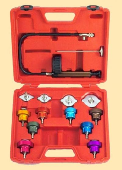 Тестер герметичности систем охлаждения двигателя 14 предметов