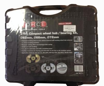 Съёмик ступичных подшипников с сепараторами D=62,66,72мм Audi, VW, Seat, Skoda 21пр.