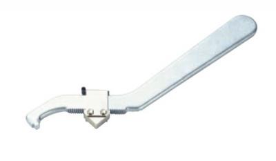 Ключ гаечный, переставной, самозажимной  для корончатых гаек.