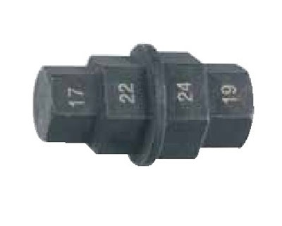 Многофункциональный торцевой шестигранный ключ 4-в-1, 17х19х22х24мм