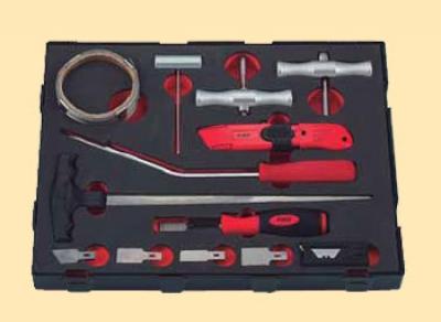 Набор для демонтажа автостекол 13 предметов