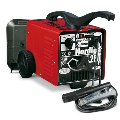Сварочный аппарат NORDICA 4.280 TURBO с электродом MMA, перемен.ток 230-400V/70-220А (шт.)