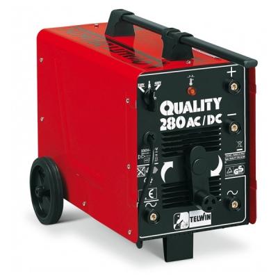 Сварочный аппарат QUALITY 280 AC/DC с электродом MMA, переменый и постоянный ток 230-400V, 45-230АС/25-160DC (шт.)