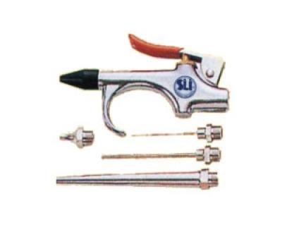 Пистолет обдувочный с комплектом насадок (шт.)