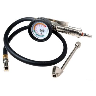 Профессиональное 3-х функциональное приспособление с манометром д/подкачки шин 20 АТМ