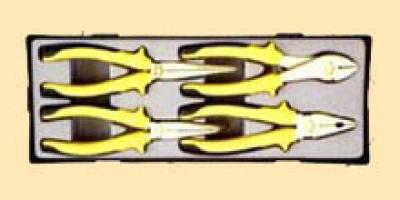 Набор шарнирно-губцевого инструмента 4пр.(шт.) в ложементе