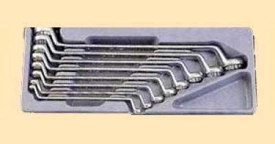 Набор ключей накидных 8пр. 6-23мм (шт.) в ложементе