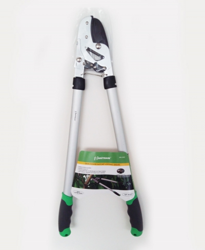 UN-L3837 Сучкорез с храповым механизмом, опорной наковальней, L=650мм, с Ал ручками, мах рез 35мм.