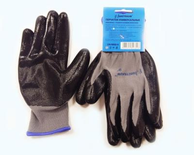 UN-N002-8 Перчатки универсальные (серые), с полиуретановым покрытием. р-8