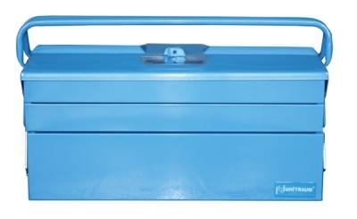 Ящик инструментальный, раскладной, 3 уровня. с 2 ручками