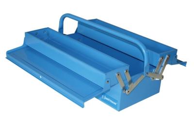 Ящик инструментальный, раскладной, 2 уровня. с 1 ручкой
