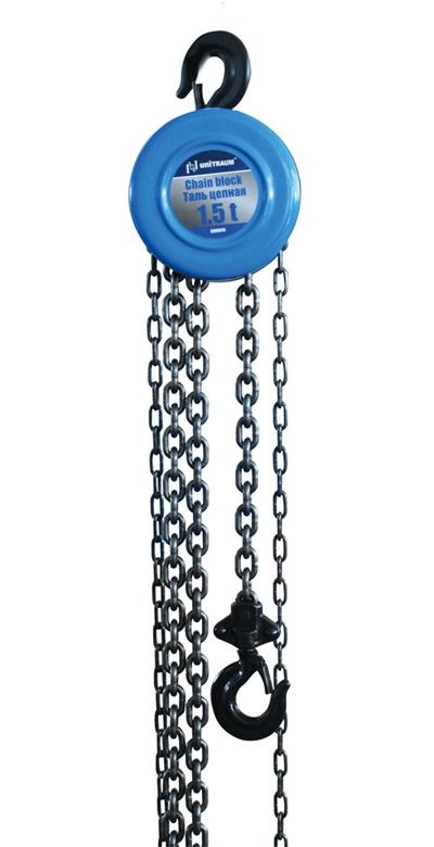 Таль цепная 1,5т., Н=360мм, цепь 2,5м, нагрузка для подъёма 370Н